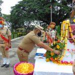Commemmoration Day! RPF, Mysuru division pays tribute to martyr's