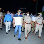 Night Curfew! DC, SP take stock of people's response in Chamarajanagar