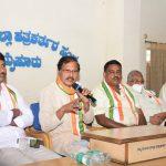 Mysuru-Kodagu MP Prathap Simha must remind Modi of his Paris promise, demands Congress leader V R Sudarshan