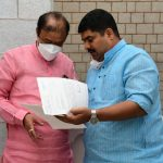 MLA Vedavyas Kamath meets sports minister, demands hostel for Kabaddi players in DK